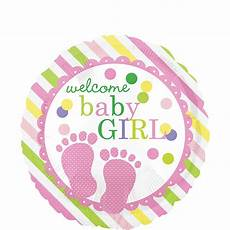 Welcome Baby Girl Colorful Welcome Baby Girl Balloon 17in Party City