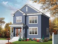 Small 2 Story Floor Plans Small Home Plans Small Two Story House Plan Fits A