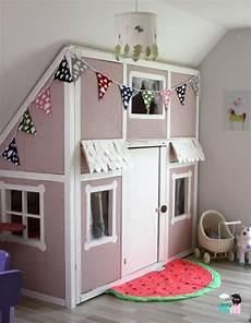 diy zimmer einrichten diy ein hausbett im kinderzimmer chellisrainbowroom
