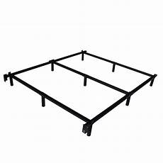 xl heavy duty metal bed frame with headboard brackets