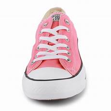 Converse All Star Light Ox Pink Converse Chuck Taylor All Star Ox Womens Trainers In Light