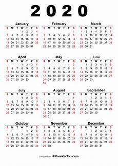 2020 Calendar Free Download 2020 Calendar With Indian Holidays Pdf