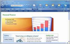 Microsoft Budgeting Software Microsoft Money Plus For Personal Finances And Money