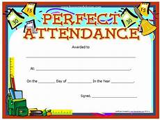 100 Attendance Certificate Template 13 Free Sample Perfect Attendance Certificate Templates