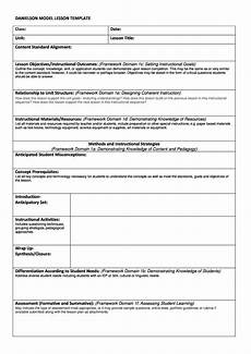 Outline Lesson Plan Example 44 Free Lesson Plan Templates Common Core Preschool Weekly