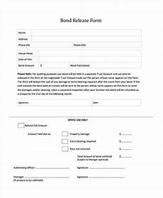 bond receipt template wa free 9 bond release forms in sles exles formats