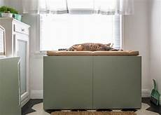 how to conceal a litter box inside a cabinet how