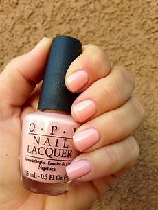 Opi Light Pink Gel Nail Polish Opi Hopelessly In Love A Light Peach Pink Color Peach