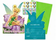 Tinkerbell Photo Invitations Tinkerbell Amp Disney Fairies Party Supplies Nz Sweet Pea