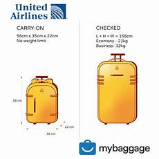 United Domestic Baggage Fees United Airlines 2020 Baggage Allowance My Baggage
