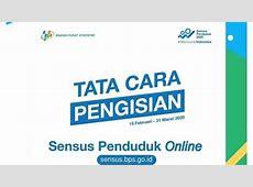Cara Isi Data Sensus Penduduk 2020 Online Melalui sensus