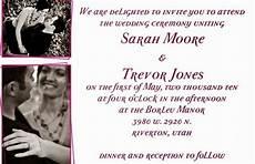 contoh undangan pernikahan resmi dalam bahasa inggris
