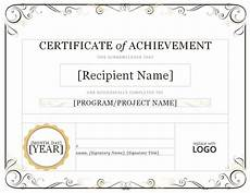 Record Of Achievement Template Certificate Of Achievement Certificate Of Achievement