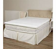 octaspring zone mattress topper with storage bag