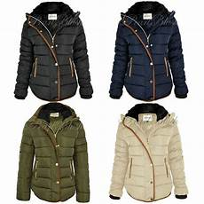 hooded winter coats womens quilted winter coat puffer fur collar hooded