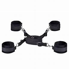 bed set ankle cuffs restraint rope kit