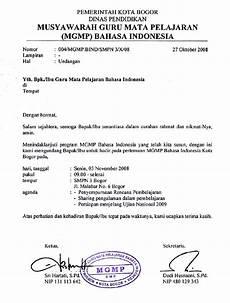 contoh surat undangan resmi yang benar aries jr