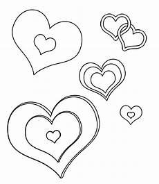 Malvorlage Weihnachten Herz Vorlage Einfache Herz Malvorlagen