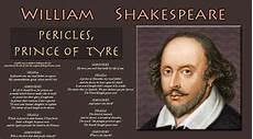 William Shakespeare Resume Shakespeare Apollonius De Tyr