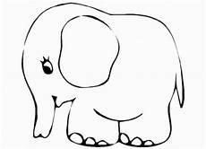 malvorlagen zum ausdrucken ausmalbilder elefant kostenlos 4