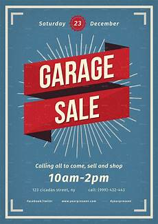 Garage Sale Flyers Examples Vintage Garage Sale Flyer By Lilynthesweetpea Graphicriver