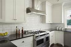 white glass subway tile kitchen backsplash how to choose the right backsplash for your granite