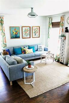 decorating ideas for apartment living rooms 33 cheerful summer living room d 233 cor ideas digsdigs