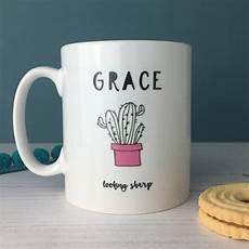 Mug Designs Looking Sharp Motivational Cactus China Mug By Hendog