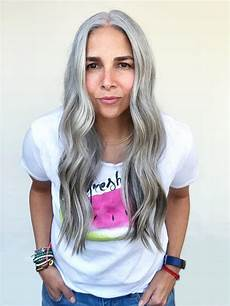 tips for transitioning to gray hair based on personal story