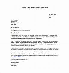 Example Generic Cover Letter General Cover Letter Template 11 Free Word Pdf