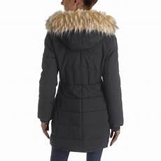 guess winter coats dane guess womens winter puffer warm parka coat outerwear bhfo