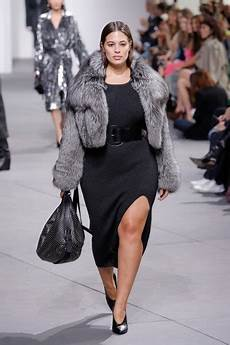 big clothes week 27 times plus size models walked at fall 2017 new york