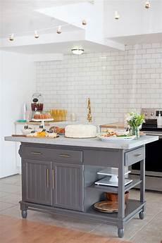 a modern diy kitchen island makeover on a budget fresh