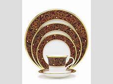"""Noritake """"Xavier Gold"""" Dinnerware Collection   China"""