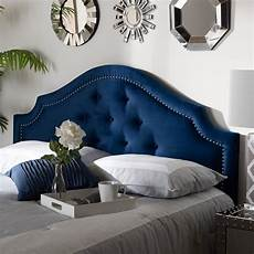 baxton studio cora modern and contemporary royal blue