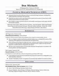 Sample Resume For Lab Assistant Entry Level Research Technician Resume Sample Monster Com