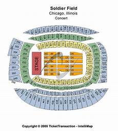 Soldier Field Seating Chart Soldier Field Stadium Tickets Buy Tickets Online