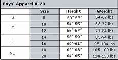 Boys Age Size Chart Drjays Com Customer Service Boys Size Chart