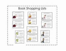 Grocery List Book What S The Buzz In First Book Shopping Lists Another