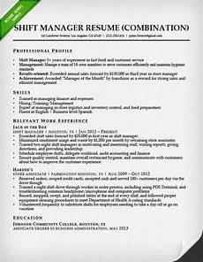 Sample Combination Resume Combination Resume Samples Amp Writing Guide Rg