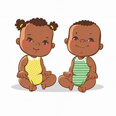 Cartoon Babies Pictures Twin Babies Illustrations Royalty Free Vector Graphics