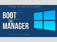 Windows 10 Boot Manager   YouTube