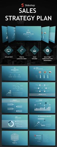 Sales Powerpoint Templates Sales Strategy Plan By Slideshop Graphicriver
