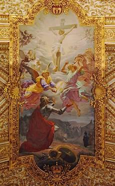 sant antonio dei portoghesi rome the central fresco of