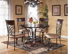 kitchen table setting ideas wrought iron kitchen tables displaying attractive