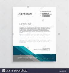 Elegant Letterhead Elegant Letterhead Design Template With Blue And Gray