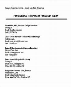 Examples Of References On Resume 70 Resume Formats Pdf Doc Free Amp Premium Templates