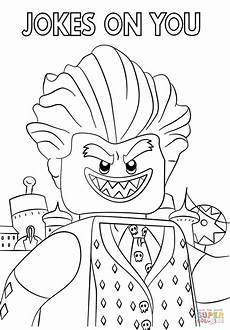 jocker from the lego batman coloring page free