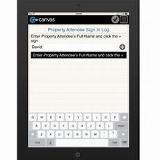 Electronic Sign In Sheet App Property Owner Meeting Sign In Sheet Form Mobile App