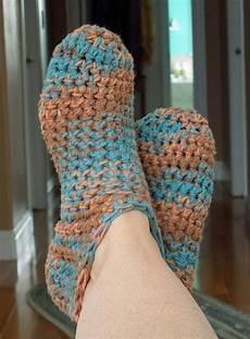bootie slippers free crochet pattern